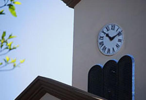 Reloj del templo