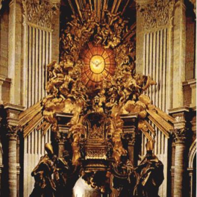 Trono de San Pedroc