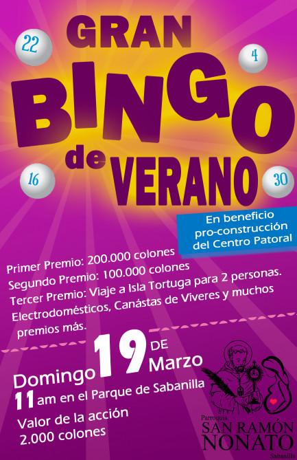 BINGO DE VERANO